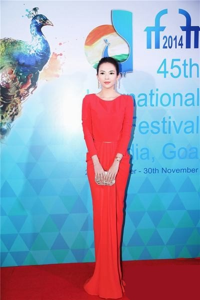 China in the International Film Festival of India as guest of honor