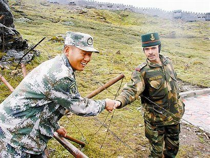 China and India strive for the military hotline of frontier defense