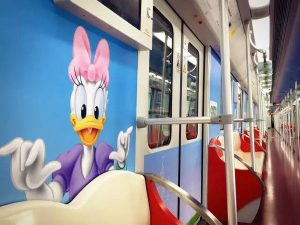 Shanghai Disneyland specific subway Line No.11