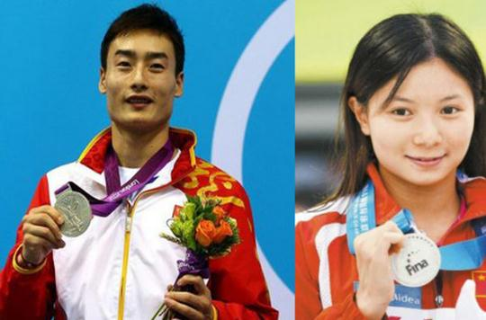 Chinese swimmers' romantic moment in Rio 2016 Olympic Games