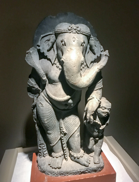 Ancient China-India stone statues exhibition opens today